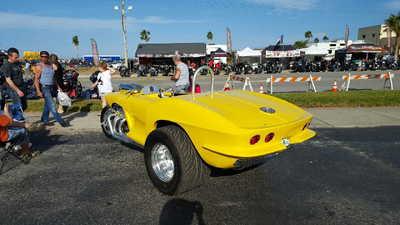 Custom built corvette trike