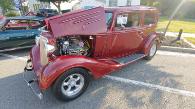 TRADES WELCOME ON THIS RARE STEEL 1934 CHEVROLET 2DR SEDAN