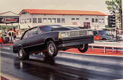1980 Chevy Malibu 5.50 outlaw