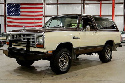 1981 Dodge Ramcharger
