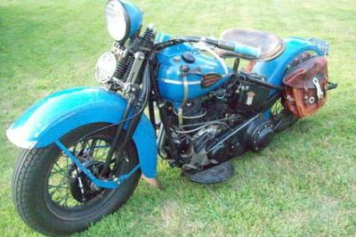 1946 Harley FL Knucklehead