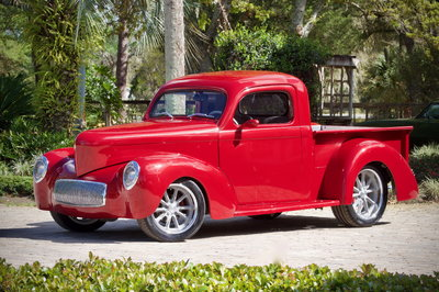 1941 WILLY'S LS1 PICKUP TRUCK Resto-Mod SHOW TRUCK