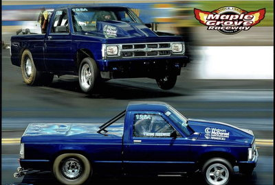 T/K 88 Chevy S10 Drag Truck For Sale