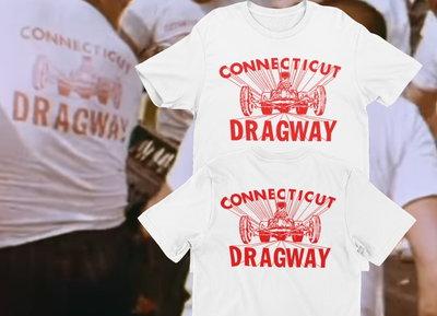 CT DRAGWAY 1960'S Logo T-Shirt