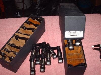 2 sets of isky bushed .937 off-set lifters