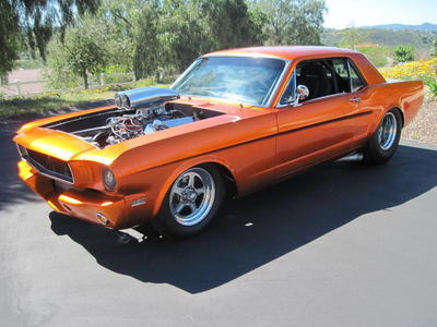 1966 Mustang PRO Street