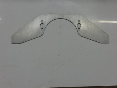 SBC front motor plate