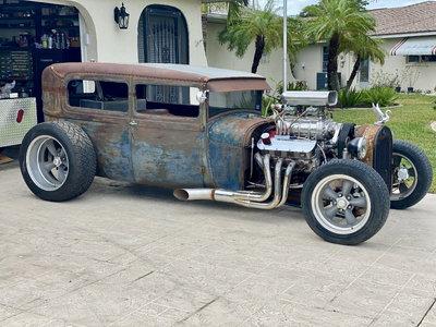 Supercharged 572 1928 Sedan Rat Rod