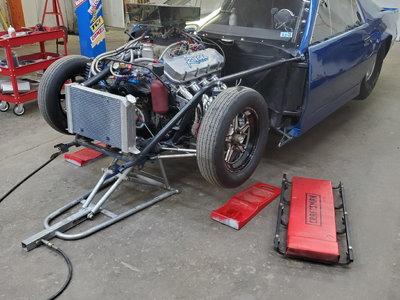 90 camaro 6.0 cert tube chassis
