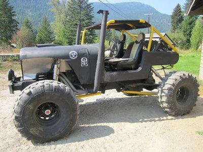 Wicked mud buggy crawler great trail rig