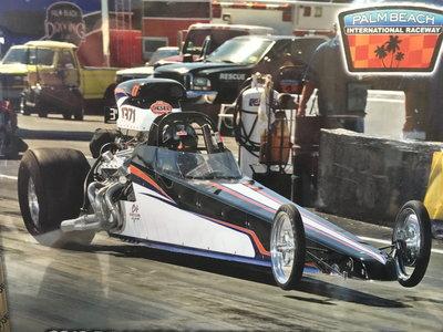 ***C&F 225 dragster roller 6.0 cert****