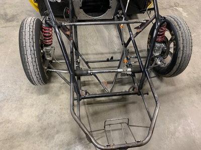 69 Camaro Race Car - Crashed