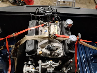 602 Chevy crate engine