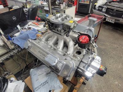 Ford 596CI Kaase SR71 heads 15.25:1 Complete engine