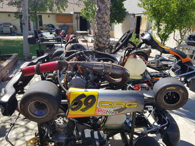 6 different karts (3 CRG 3 Unknown)