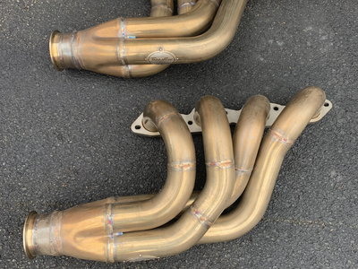 Stainless Works BBC turbo headers