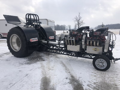 SMT MODIFIED PULLING TRACTOR CHASSIS ROLLER