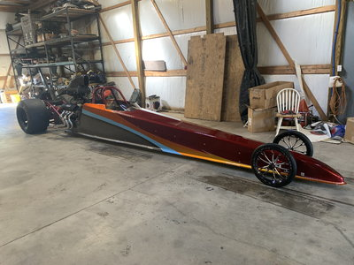 2009 American Dragster Turn Key Super Nice