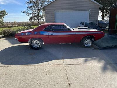 1972 Dodge Challenger Roller