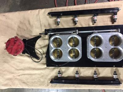 Sonnys 8500 series throttle body's