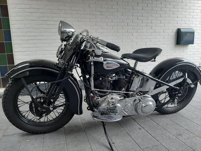 1940 Harley Davidson knucklehead EL