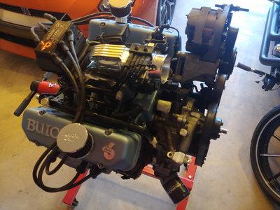 Complete 3.8 Buick Grand National stroker motor