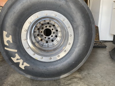 Weld 16x16 bead lock wheels