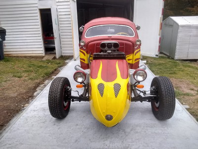*** CRAZY WILD VW RAT ROD *** V8 Engine