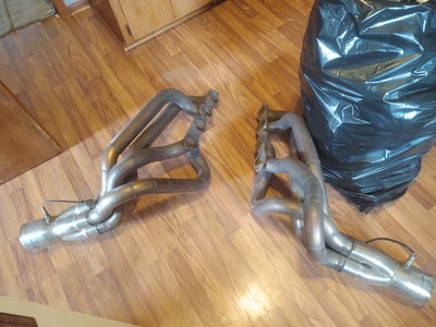 Bbc stainless fender exit headers