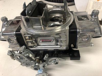 New quick fuel SS-780-VSBK W/return