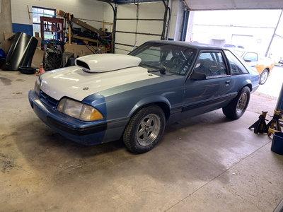1990 Mustang LX Hatchback 8.50