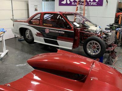 Lumina chassis car
