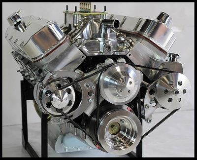 CHEVY BBC 496 505 STAGE 6.0 TURN KEY ENGINE, DART BK 674HP