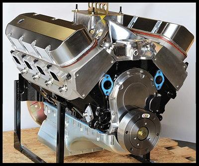 BBC CHEVY 496-505 ENGINE, DART BIG M BLOCK, ENGINE 674HP