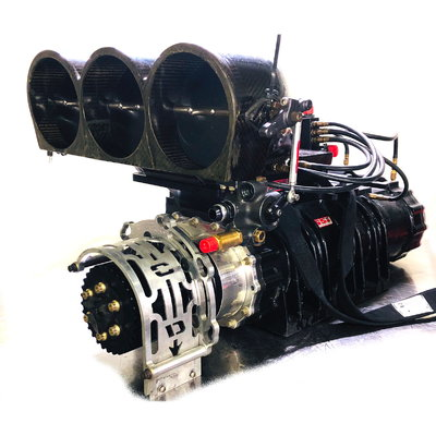 SSI 14-71 Supercharger, Carbon Hat , Waterman Pump
