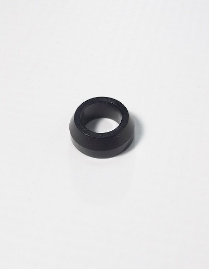 3/8 Aluminum Cone Spacer Black Anodized  for Sale $1.65