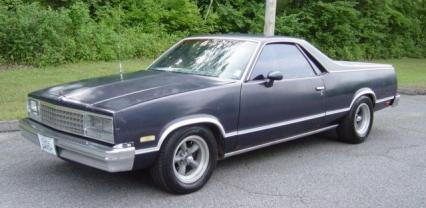 1983 CHEVROLET EL CAMINO  for Sale $4,950