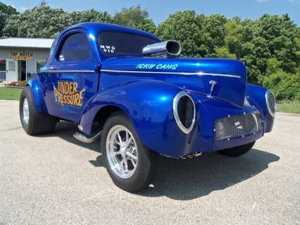 1941 WILLYS COUPE UNDER PRESSURE 427cid SBC  for Sale $89,995