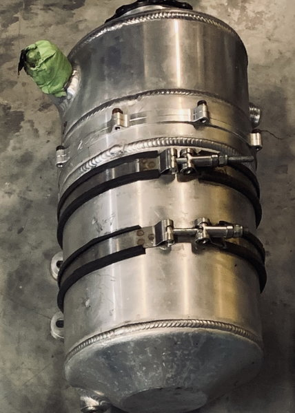 3 gallon Aluminum oil tank  for Sale $350