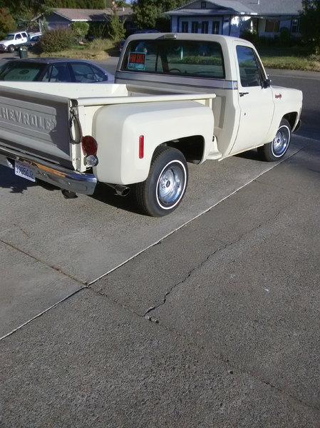 1973 Chevrolet C10 Pickup  for Sale $11,725