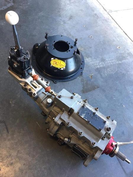 G Force Gsr Dog Box 4 spd Transmission set up for LS W/ andr  for Sale $6,500