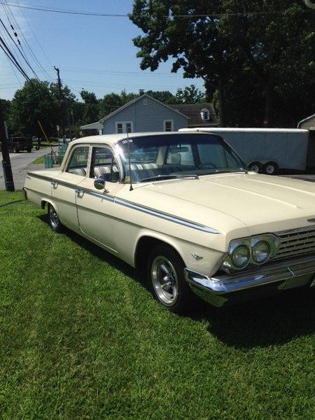 1962 Chevrolet Bel Air  for Sale $10,500