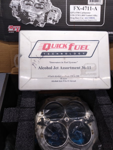 Quick Fuel FX-4711-A Alky with jet kit  for Sale $1,000