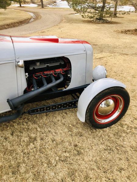 1930 custom model A sedan