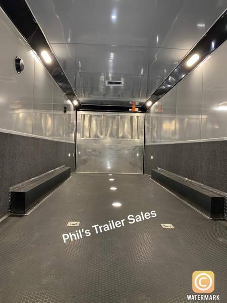 NEW 34 HAULMARK EDGE PRO LOADED RACE TRAILER  TEXAS BUILT RA  for Sale $32,999