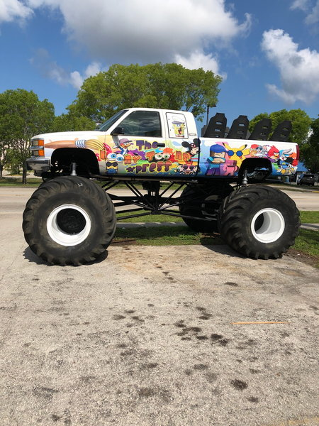 monster truck ride truck   for Sale $35,000