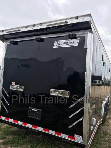 34' HAULMARK EDGE PRO Phil's Trailer Sales   Race Trailer   for Sale $25,500