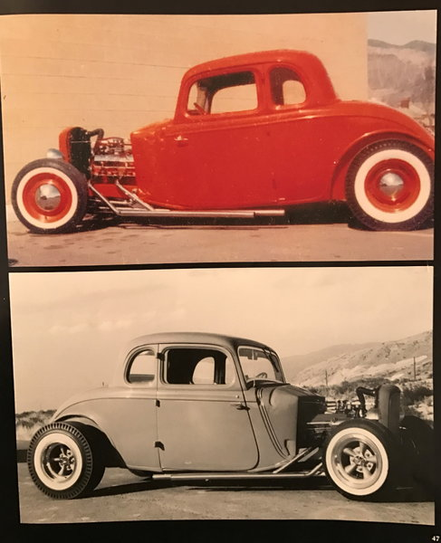 ONE OF A KIND ... 1934 Ford Coupe   for Sale $135,000