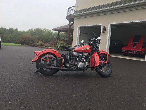 1938 Harley Knucklehead EL  for Sale $15,000