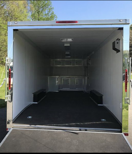 2019 8.5x28 ft Enclosed Race Trailer  for Sale $14,000
